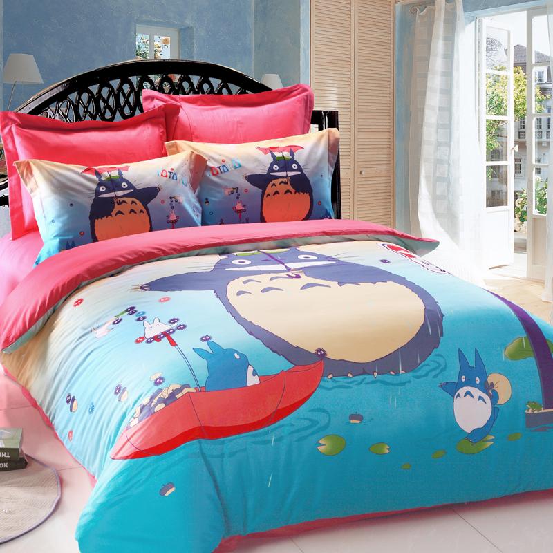 Totoro Bed Set: Nesca's Nook: My Neighbor Totoro Bedroom Sets & Decor