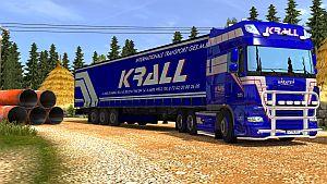 Krall internationale Transport pack for DAF 50Keda