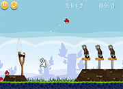 juego Angry Birds vs Zombies HD