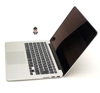 MacBook Pro Retina Core i5, 13-inch Late 2012 Bekas