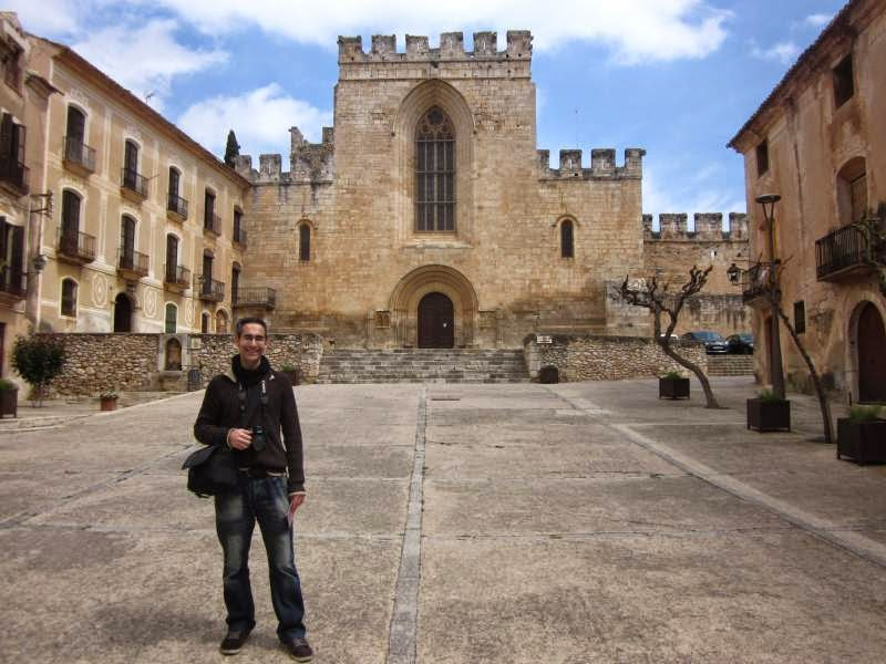 Monastery of Santes Creus in Catalonia