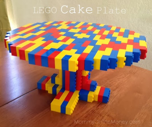 The world famous LEGO CAKE PLATE