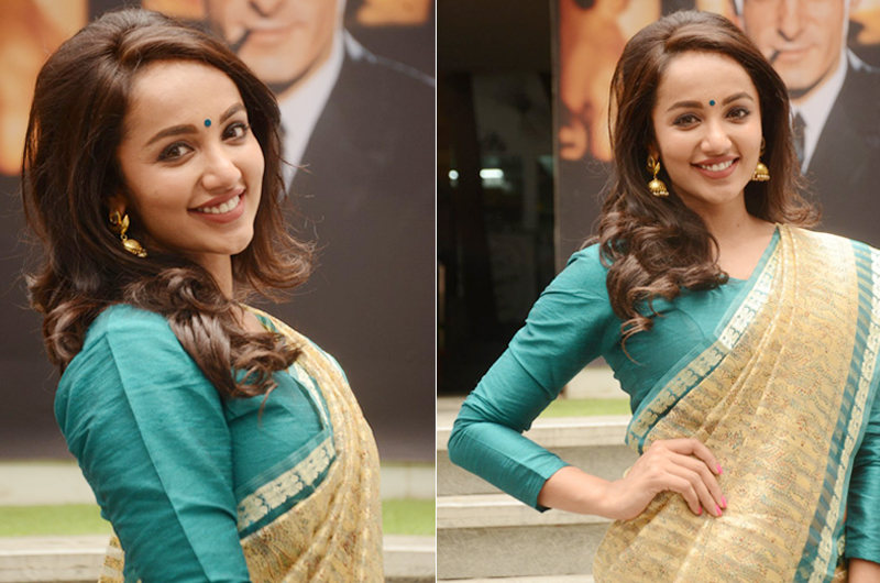 Tejaswi Madivada at V Care Foundation Annual Fundraising Event