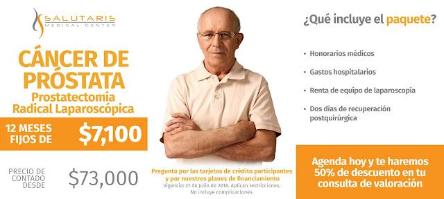 Precio de Cirugía para Tratamientos de Cáncer de Próstata Guadalajara