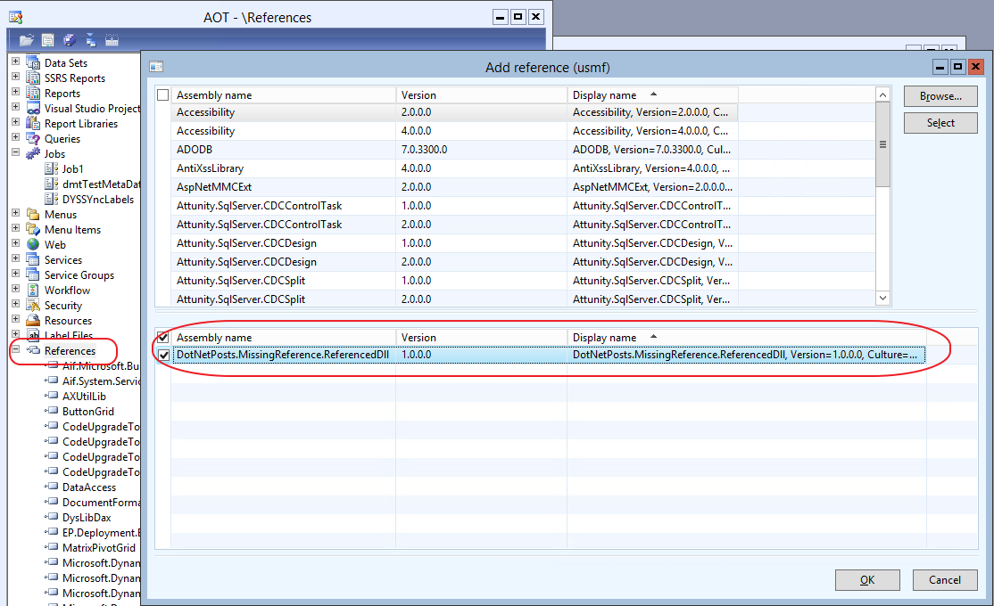 AX: using the Assembly Binding Log Viewer (Fuslogvw exe) to
