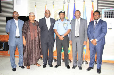 THE MANAGING DIRECTOR, NIGERIA LIQUEFIED NATURAL GAS PAYS IGP COURTESY CALL
