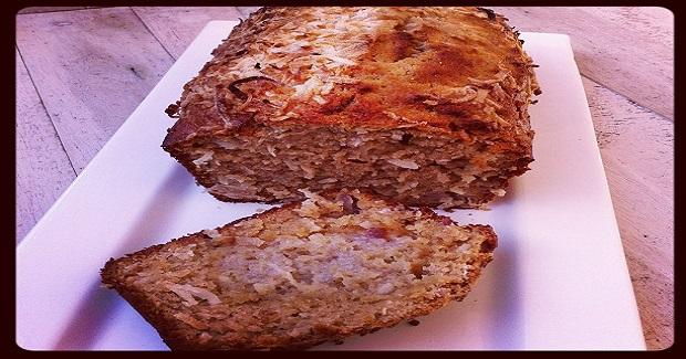 Coconut Banana Bread Recipe