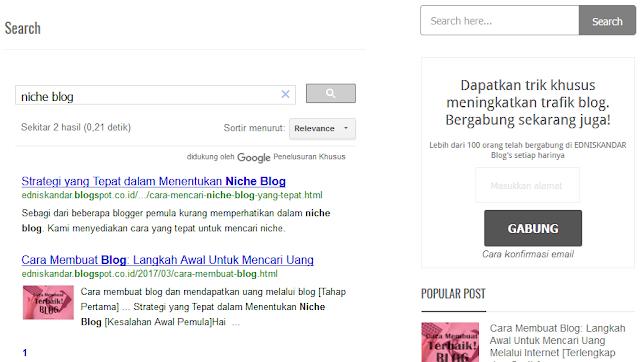Cara membuat google penelusuran khusus, cara membuat kotak penelusuran seperti google