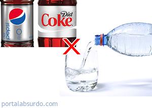 Quer emagrecer? Não beba água