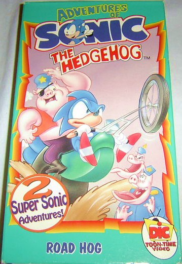Nothing But Cartoons Adventures Of Sonic The Hedgehog Road Hog