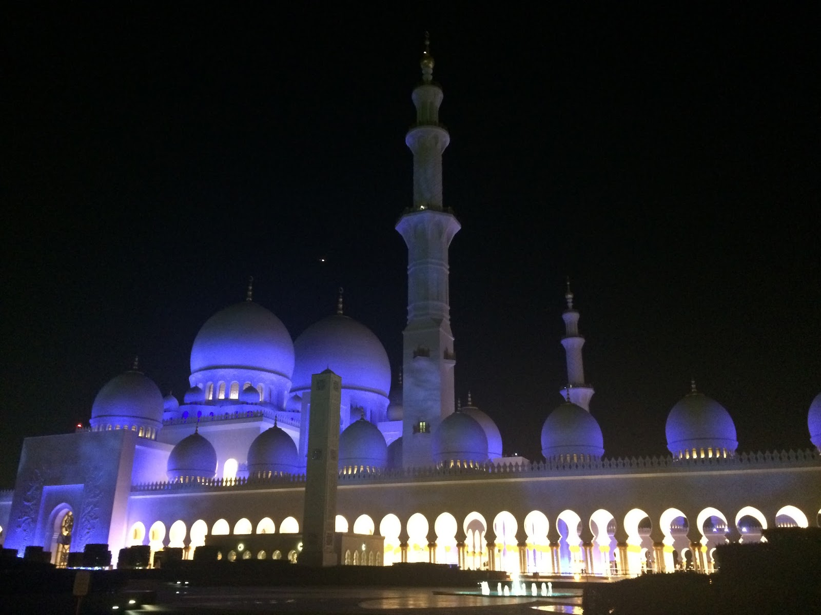 Image of Sheikh Zayed Grand Mosque Abu Dhabi
