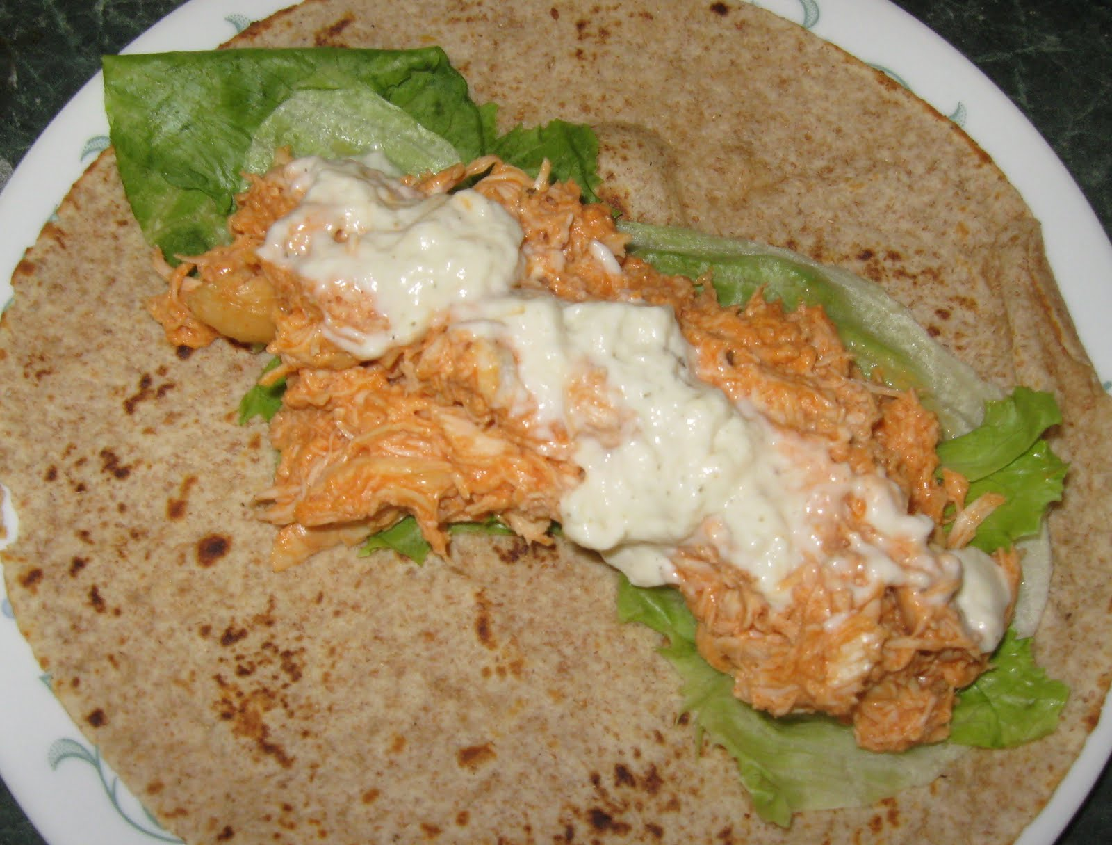 Avis So Cook Slow Cooked Buffalo Chicken Wraps