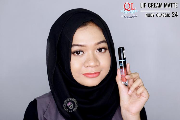 QL Lip Cream Matte 24 Nudy Classic