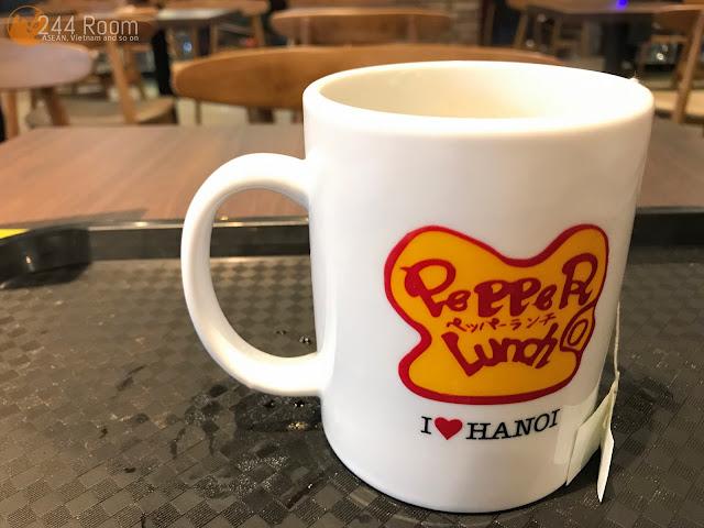 Pepper lunch hanoi ペッパーランチハノイドリンク