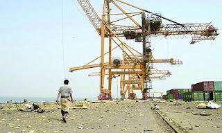 الولايات المتحده الامريكيه تدلي بتصريح جديد ومثير حول ميناء الحديده