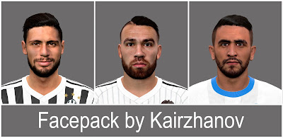 PES 2016 FacePack vol.2 by Kairzhanov