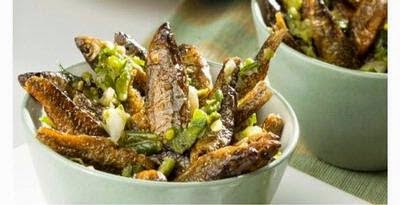 Resep Ikan Teri sambal Cabe Ijo