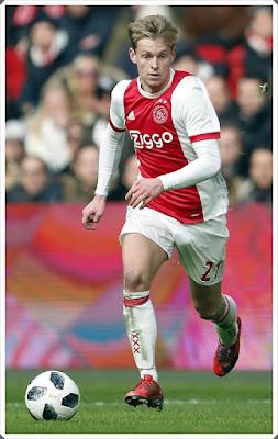 Ajax Frenkie De Jong