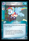 My Little Pony Rainbow Dash, Snowdash Defenders of Equestria CCG Card