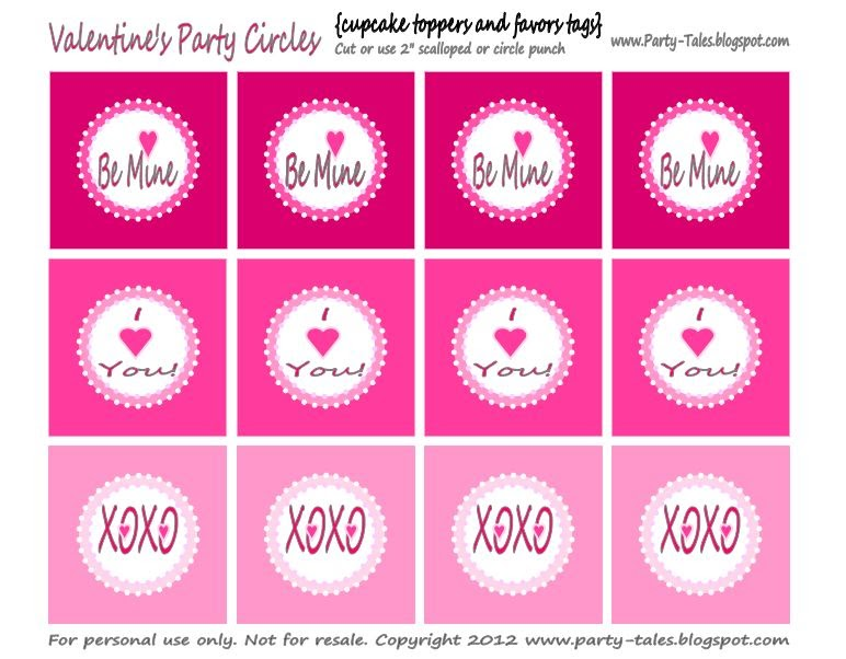Party Tales Free Printables Be Mine Valentine S
