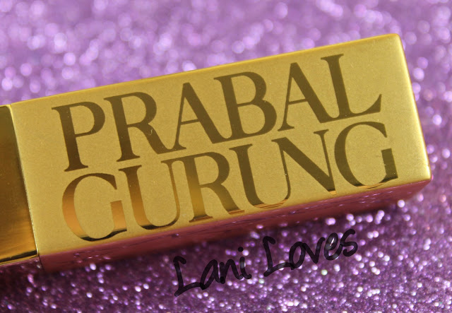 MAC Monday: Prabal Gurung - Ultramarine Pink and Carmine Rouge Lipstick Swatches & Review