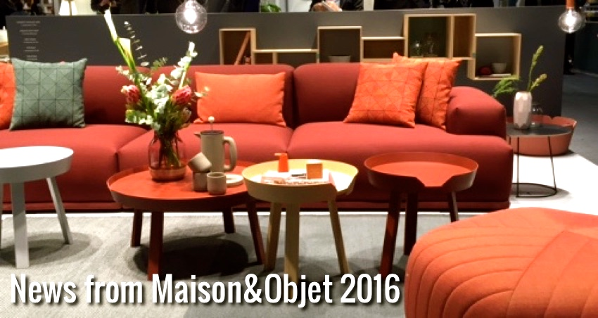 news from maison objet 2016 nordic days by flor linckens. Black Bedroom Furniture Sets. Home Design Ideas