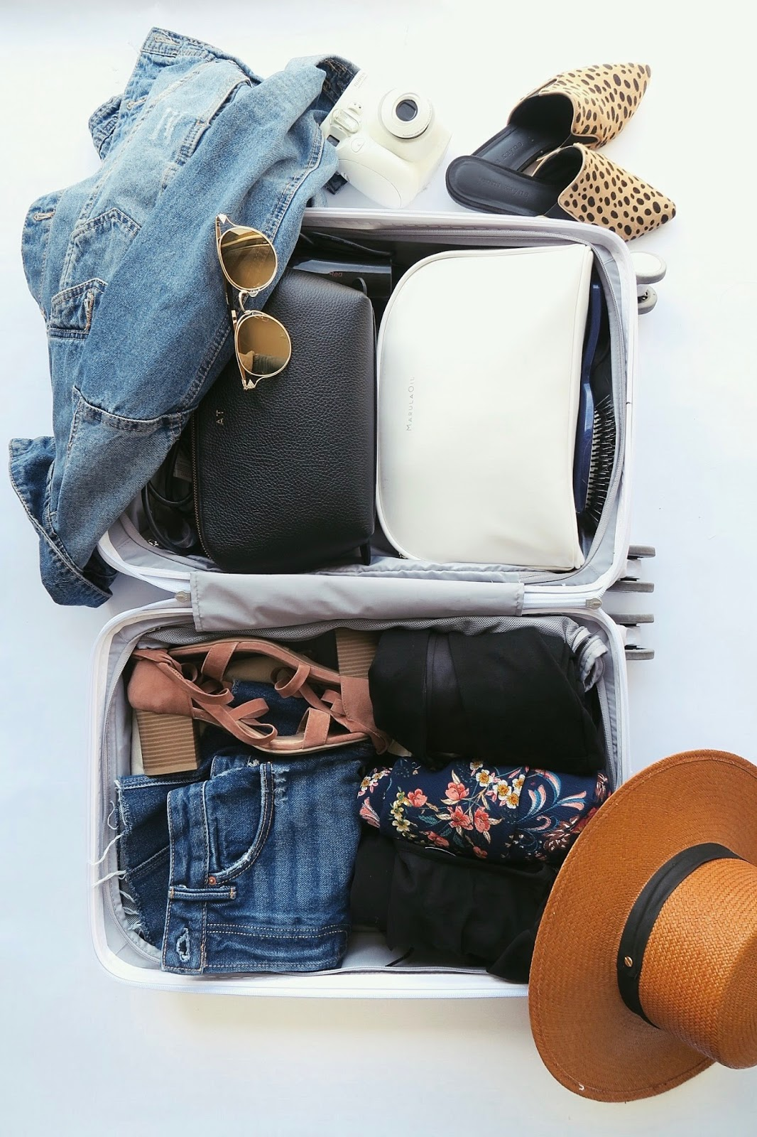 what to pack for catalina, weekend carry on, raden luggage
