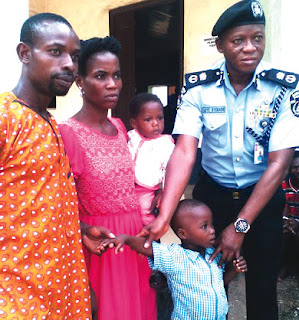 Man who stole 2 kids says he attracted them with sweets, fried yam (photo)