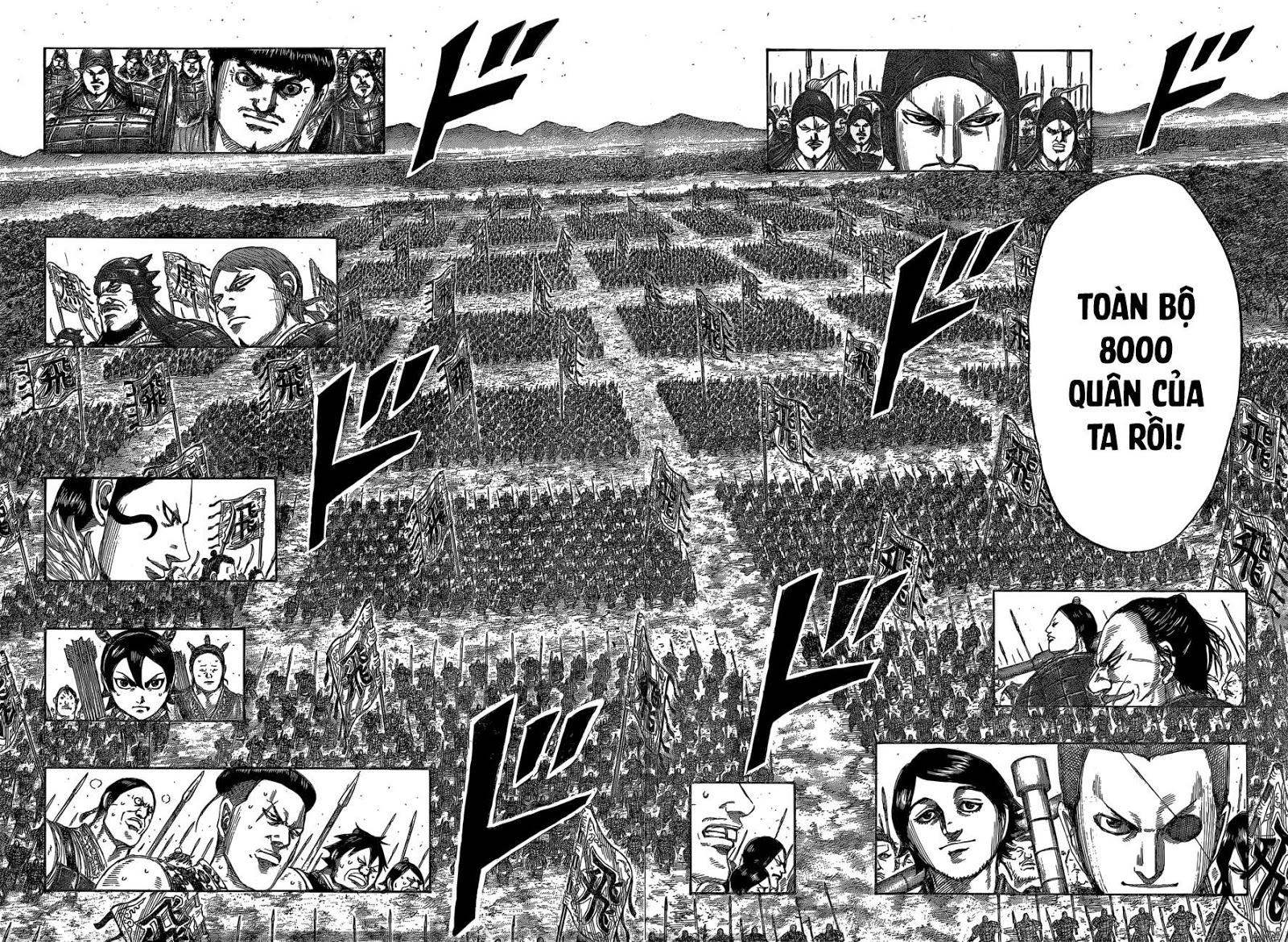 Kingdom Chaper 543: Đi tới chiến trường thực sự trang 14
