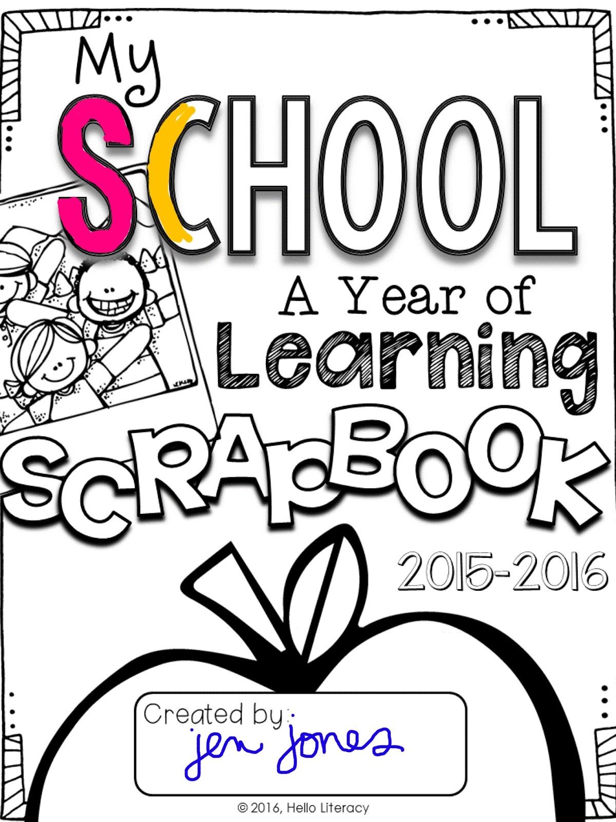 end of the year memory books hello literacy bloglovin u0027