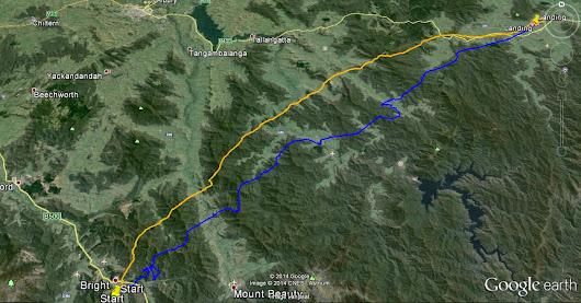 Scoped out the Bright to Corryong leg of the Great Divide Hike and Fly