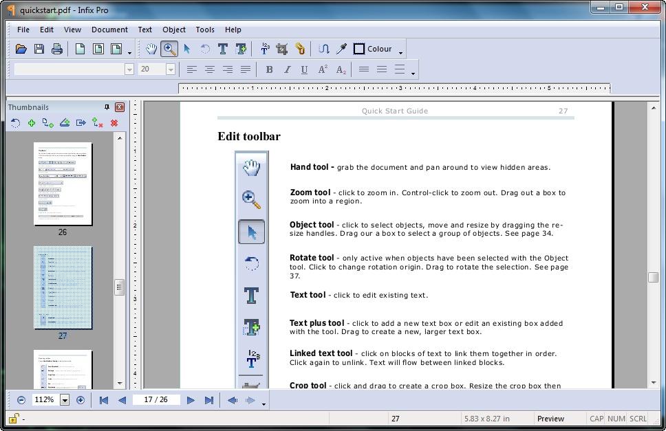 Infix PDF Editor Pro 6 17 Final (2013) PC + Portable By Valx