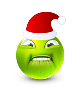 Christmas Smiley Icon 1