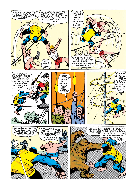 Read online Uncanny X-Men (1963) comic -  Issue #3 - 17