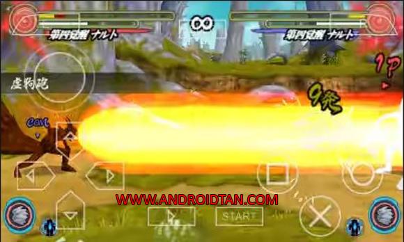 Naruto Shippuden Narutimate Accel 3 ISO Free Download