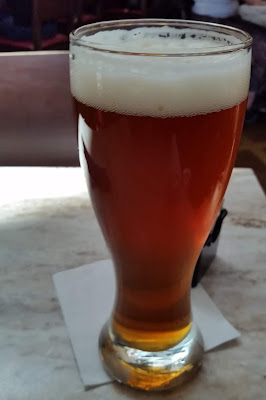 beer - SanTan Devil's Ale - full glass