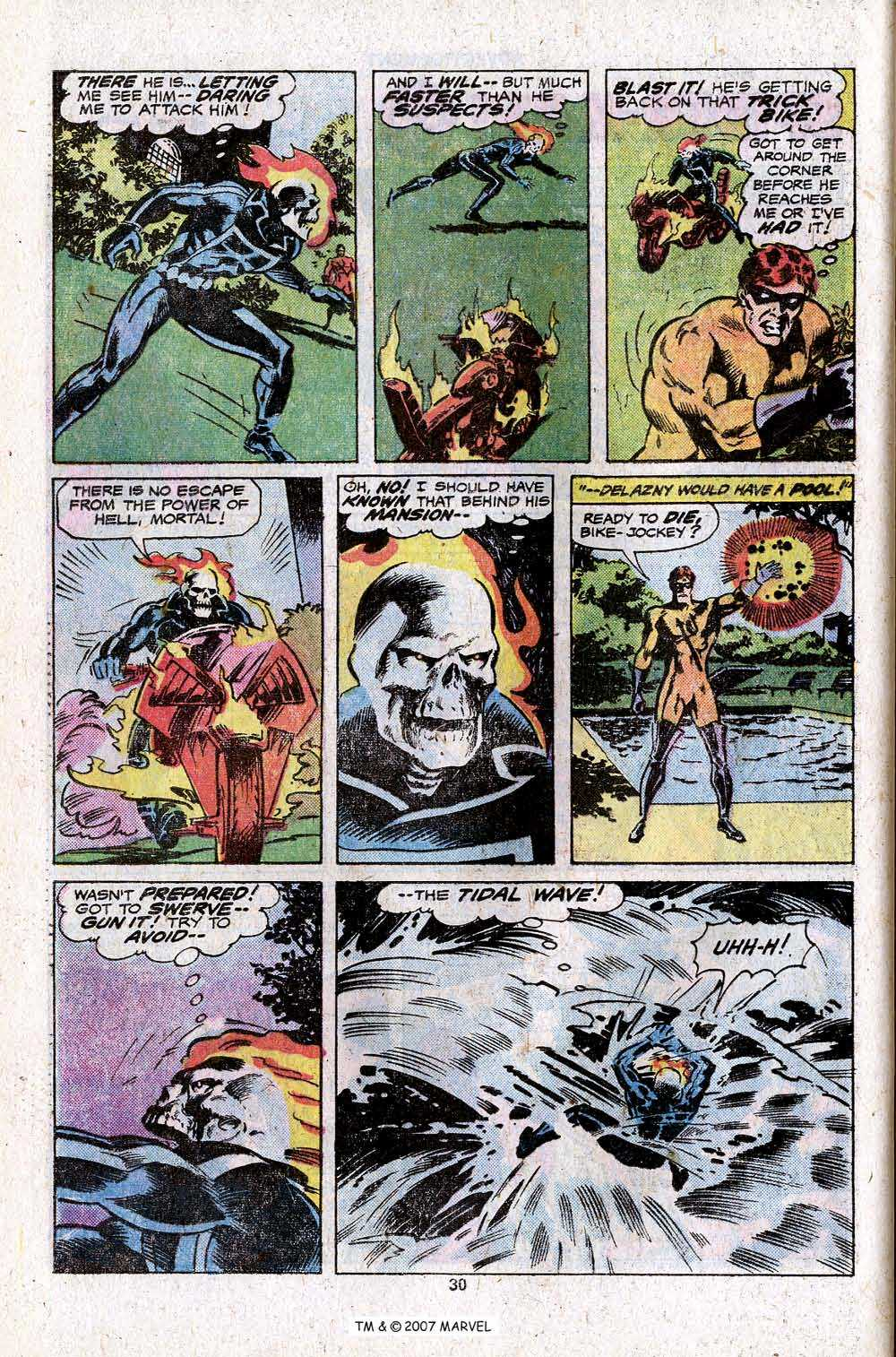 Ghost Rider (1973) Issue #23 #23 - English 32