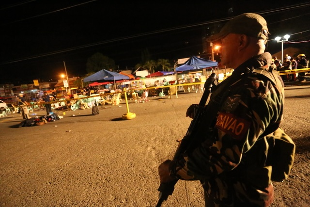 The security has been further intensified in Davao City