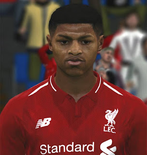 PES 2017 Faces Rhian Brewster by ABW_FaceEdit