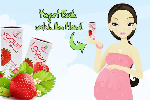 Manfaat Yogurt heavenly blush  untuk Ibu Hamil
