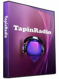 برنامج الاستماع الى محطات الراديو على الانترنت TapinRadio 2.09.9