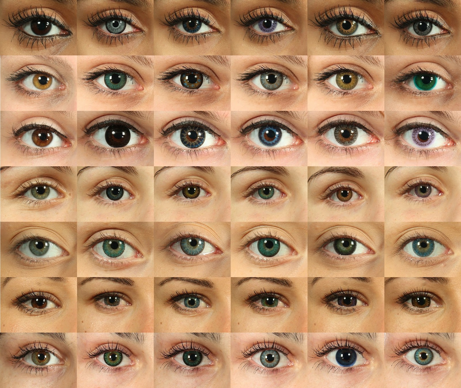 Best Color Contacts For Dark Brown Eyes ...