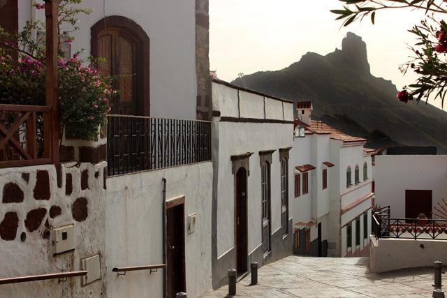 Tejeda y el Roque de Bentayga