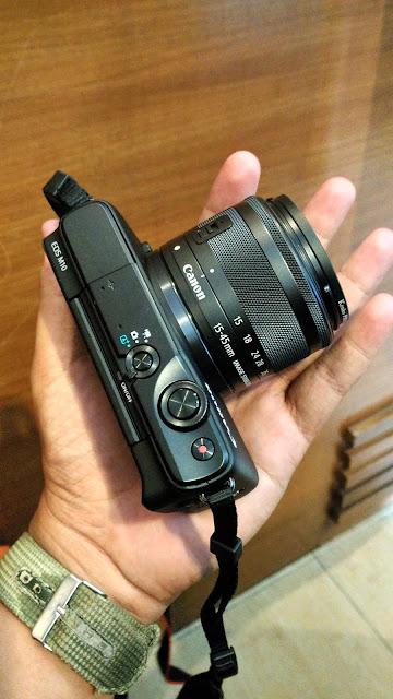 Canon EOS M10, Teman Perjalanan Yang Sempurna