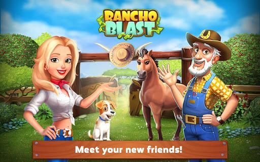 تحميل لعبة Rancho Blast مهكرة للاندرويد وكاملة كلشي غير محدود
