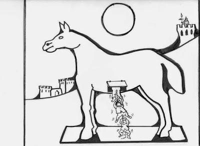 """Treia Comunità Ideale - Comitato Civico: """"Il cavallo di Treia ..."""