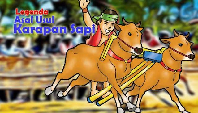 dongeng asal usul karapan sapi