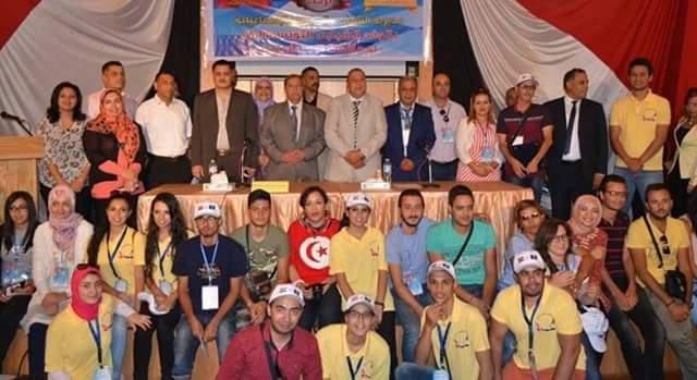 زيارة وفد الشباب التونسى لمحافظة الاسماعيلية فى اسبوع الاخاء المصرى التونسى