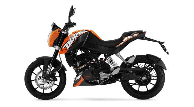 2017 KTM 200 Duke Hd Image