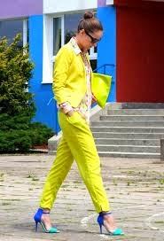 como usar look amarelo